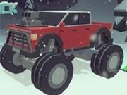 3d monster truck pe drumuri inghetate