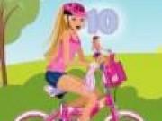 Jocuri cu Barbie cu bicicleta