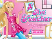 Barbie profesoara de arta