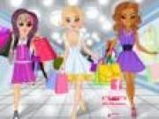 Barbie shopping cu prietenele