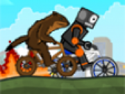 Jocuri cu Biciclete si cascadorii