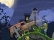 Camioneta in cimitir