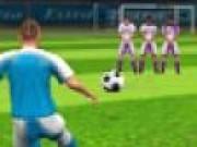 Jocuri cu Fotbal Sut la poarta