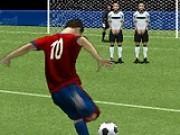 Fotbal suturi la poarta