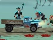Jocuri cu Impuscaturi zombi in camion