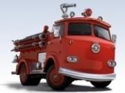 Masini de pompieri in misiune