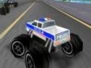 Monster truck de politie