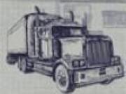 Parcari camioane desenate