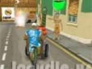 Servit ceai cu bicicleta