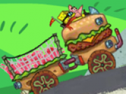 Spongebob camionul de remorca
