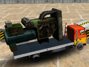 Jocuri cu Tiruri 3d transporta remorca
