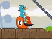 angry birds pasarile distrugatoare