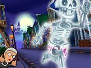 angry gran fuga de halloween