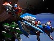 avioane spatiale cu impuscaturi