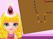 baby barbie designer de pinata