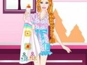 Jocuri cu barbie haine de babysitter