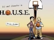 Jocuri cu baschet in curte