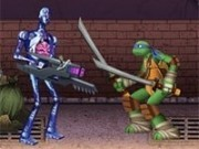 bataie cu testoasele ninja mutant in canale