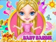 bebelusa barbie in haine de printesa disney
