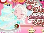 bebelusa elsa gateste tort aniversar