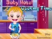 Jocuri cu bebelusa hazel de gatit
