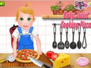 Jocuri cu bebelusa juliet gatit pizza