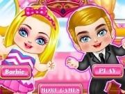 Jocuri cu bebelusii barbie si ken de imbracat