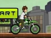 ben10 cascadorii cu motocicleta