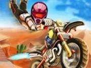 biker in viteza dupa stele