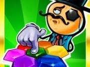 blocuri colorate in puzzle