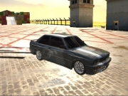 burnout drift 3 viteza in port