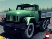 camioane 3d mari cu incarcatura si de parcat