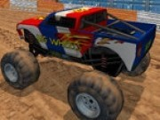 Jocuri cu camioane 3d monstru in noroi