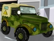 Jocuri cu camioane armata de livrat arme
