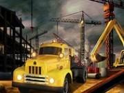 Jocuri cu camioane de constructie cu remorca