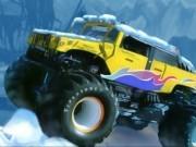 camioane hummer in curse de iarna
