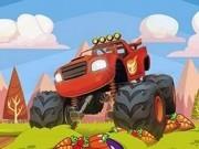 Jocuri cu camioane monstru in curse cu legume