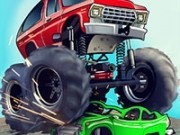 camioane monstru si cursele cu intoarceri