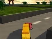 camion 3d de livrari rapide