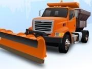 camion de dezapezit parcarea