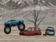 Jocuri cu camion mare cu roti uriase