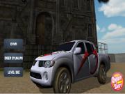 camioneta 3d de transportat cutii