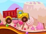 camioneta de transportat bomboane