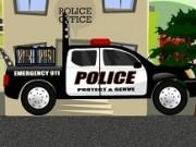 camioneta politie transporta minionii