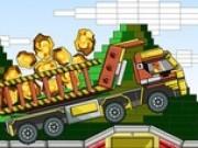 camionul lego de transport