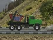 Jocuri cu camionul pentru transport radioactiv