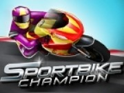 campion de curse motociclete 3d