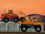 conduce buldozerul de curse