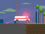 Jocuri cu condus ambulante pe traseu