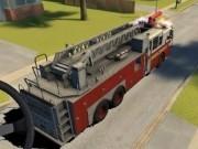 condus rapid cu camioane de pompieri 3d
